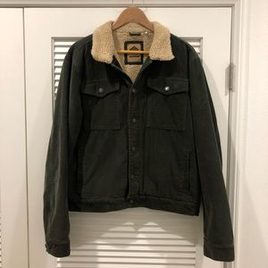 TCSS Corduroy Sherpa lined jacket